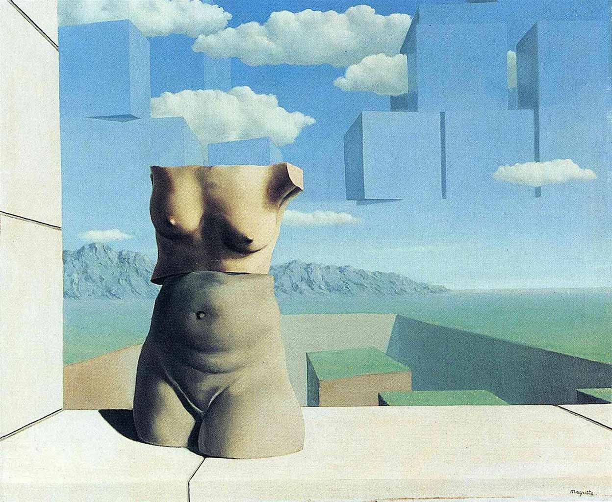 "Рене Магритт (Rene Magritte), ""The marches of summer"""