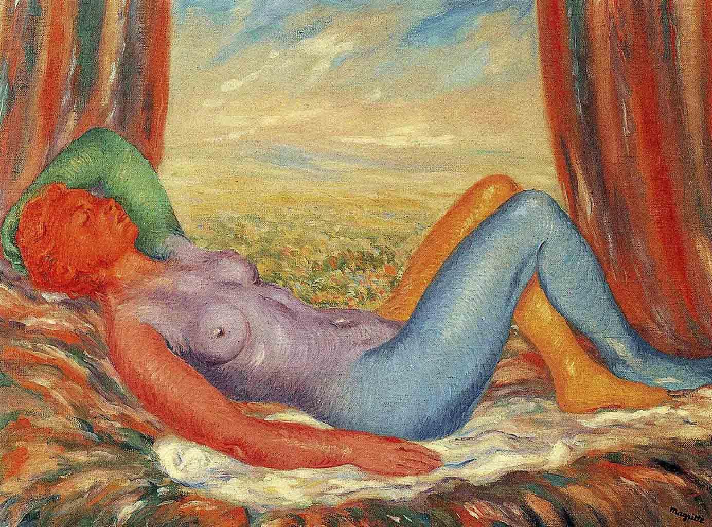 """Рене Магритт (Rene Magritte), """"The harvest"""""""