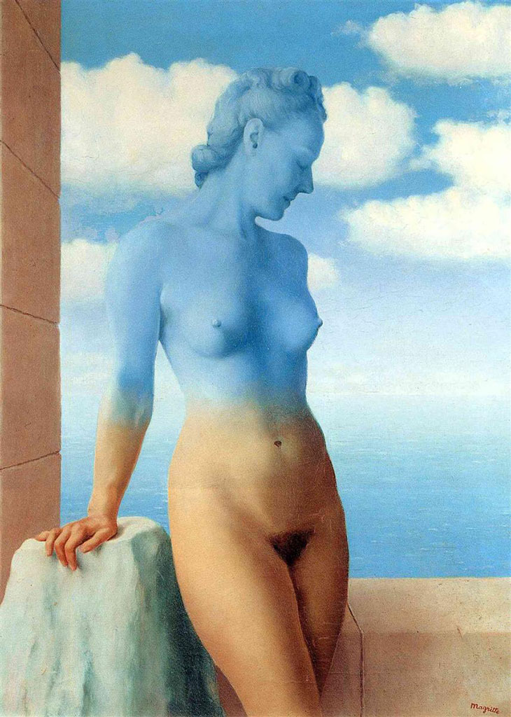 "Рене Магритт (Rene Magritte), ""Black Magic (2)"""