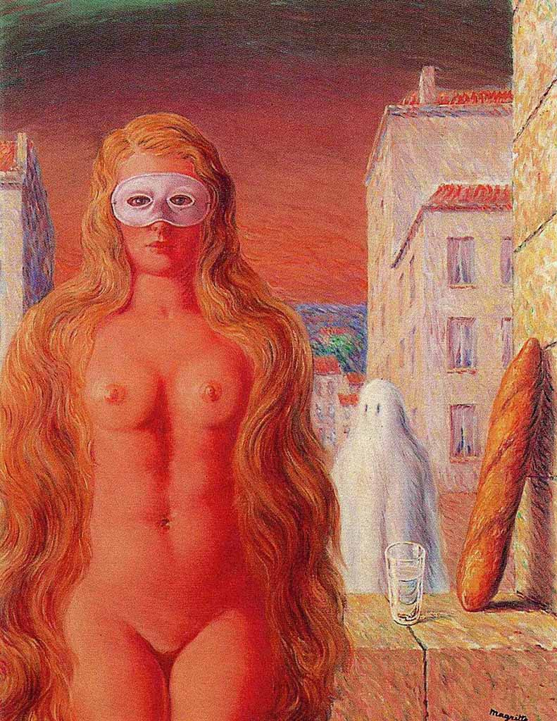 "Рене Магритт (Rene Magritte), ""The sage's carnival"""