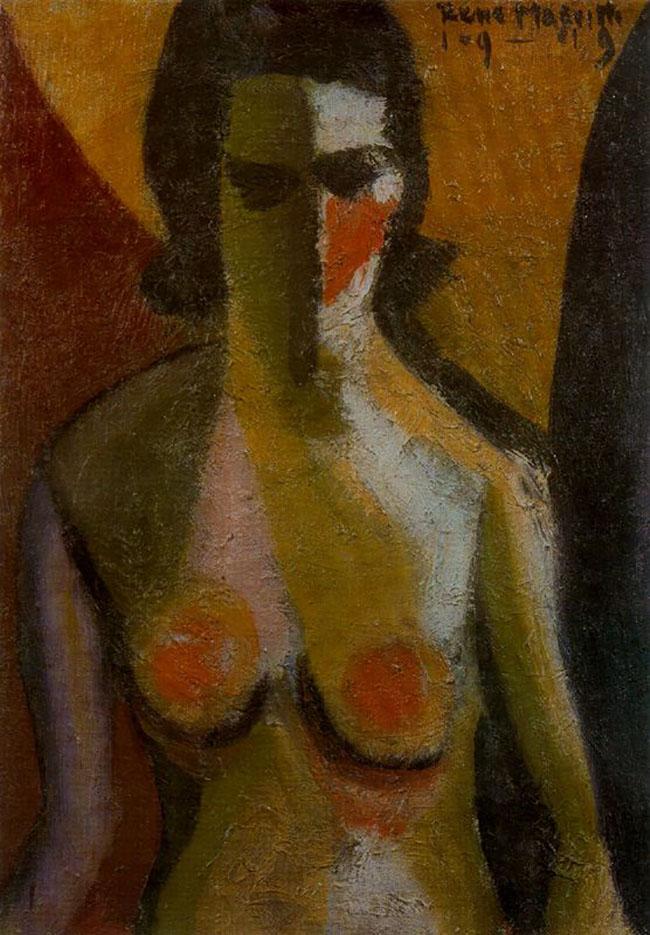 "Рене Магритт (Rene Magritte), ""Nude"""
