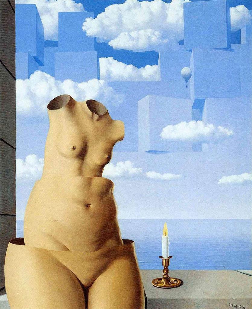 "Рене Магритт (Rene Magritte), ""Delusions of grandeur"""