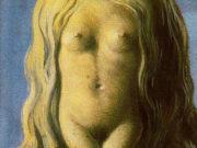 """Рене Магритт (Rene Magritte), """"Rape (3)"""""""