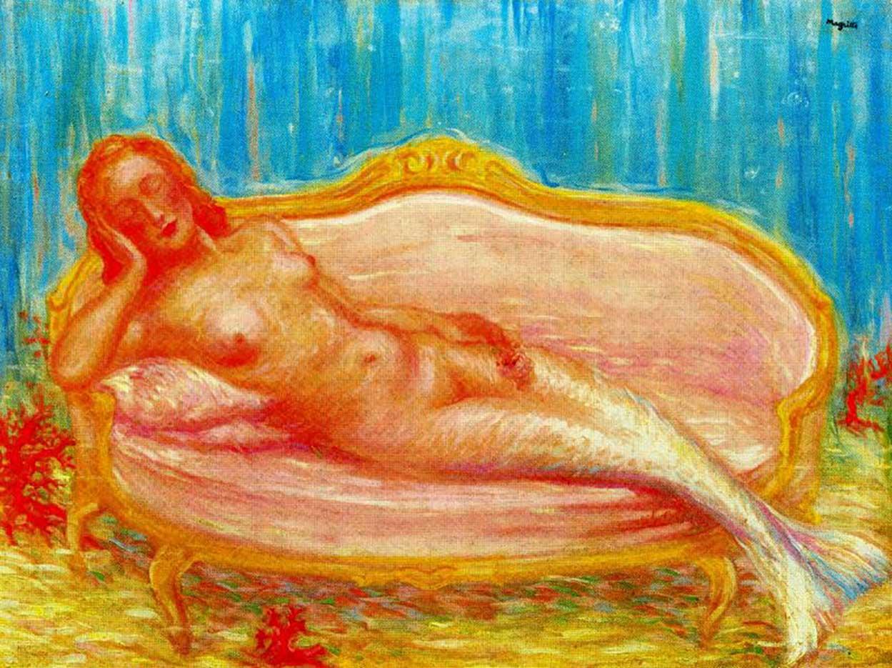 """Рене Магритт (Rene Magritte), """"The forbidden world"""""""