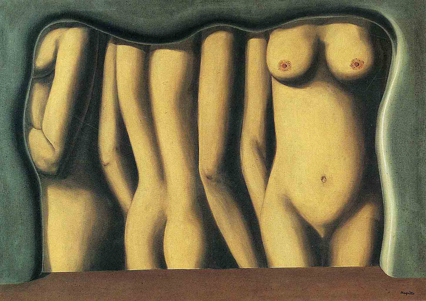 "Рене Магритт (Rene Magritte), ""Adulation of space"""