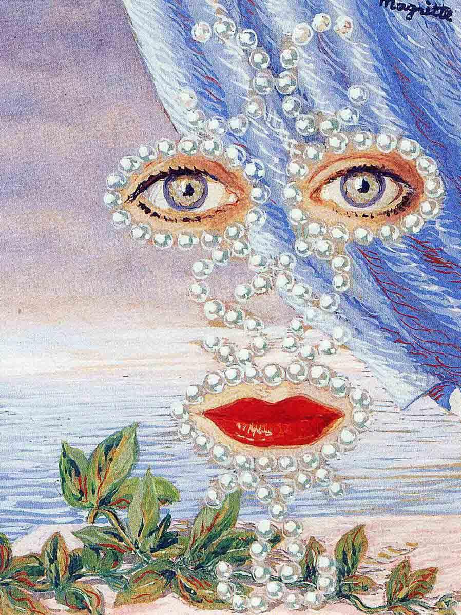 "Рене Магритт (Rene Magritte), ""Sheherazade"""