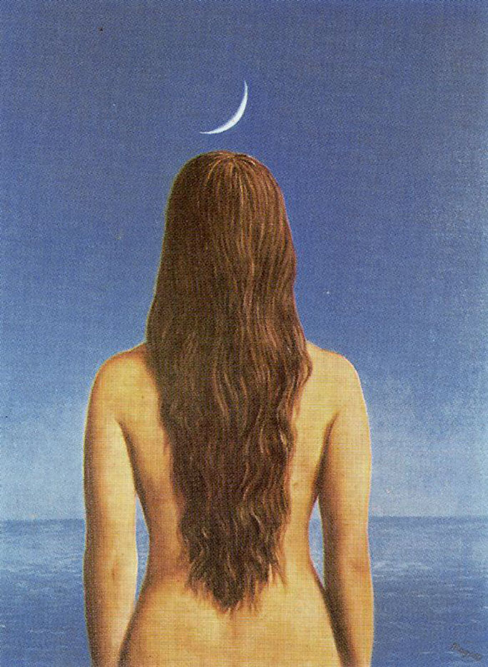 "Рене Магритт (Rene Magritte), ""The evening gown"""