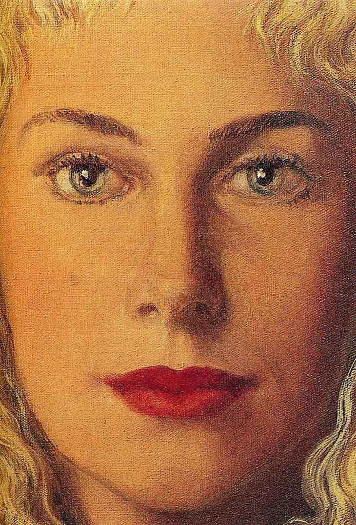"Рене Магритт (Rene Magritte), ""Anne-Marie Crowet"""