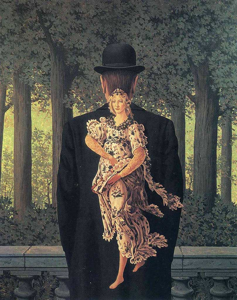"Рене Магритт (Rene Magritte), ""The Prepared Bouquet"""