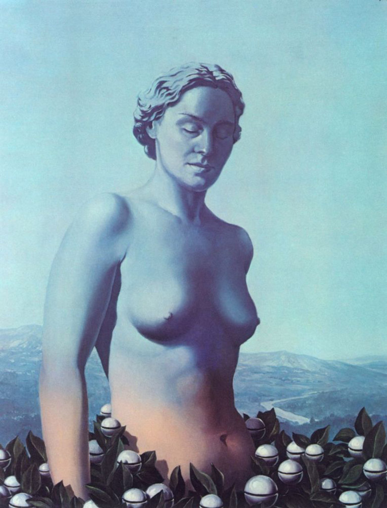 "Рене Магритт (Rene Magritte), ""Black Magic (3)"""