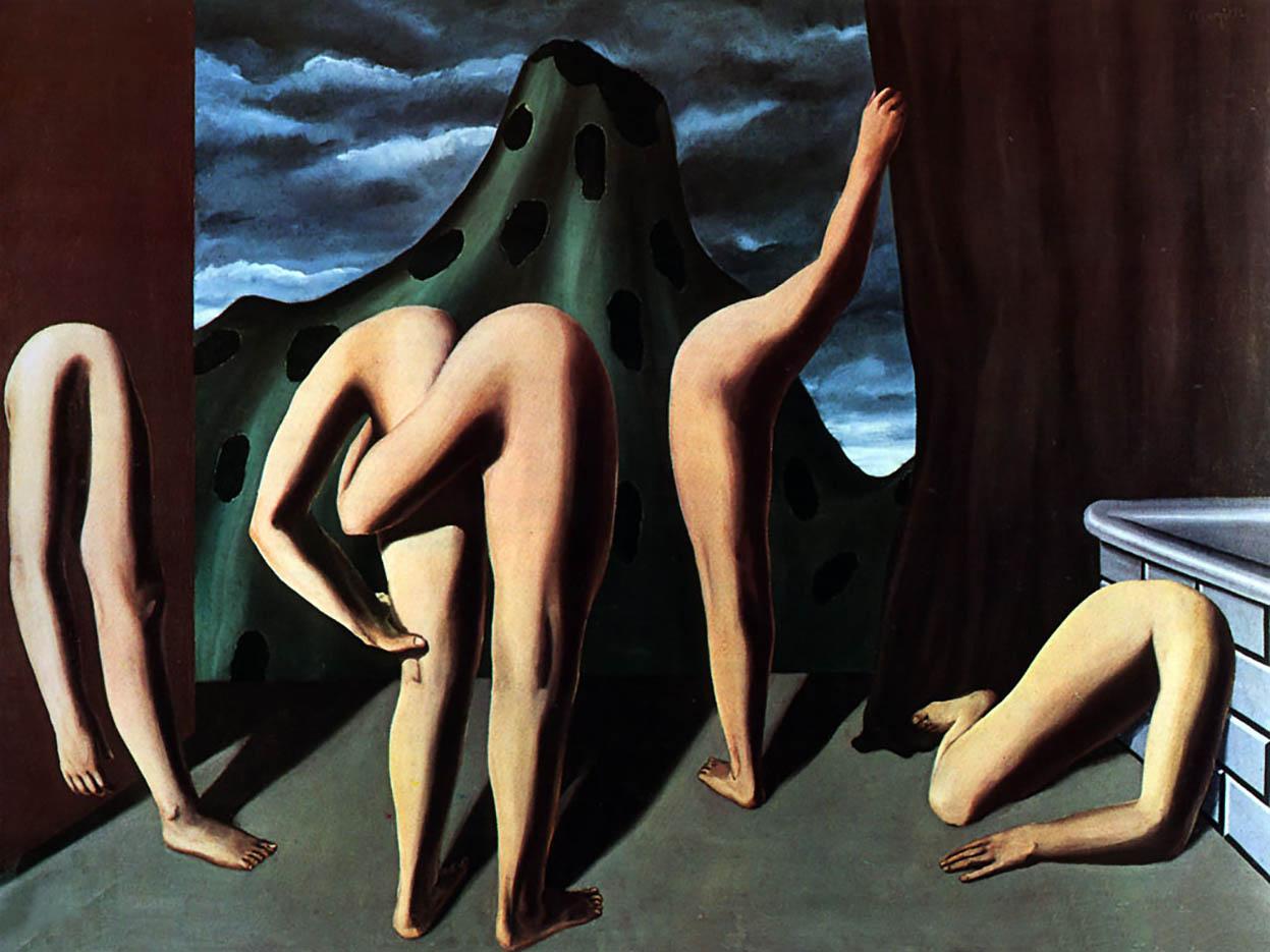 "Рене Магритт (Rene Magritte), ""Intermission"""