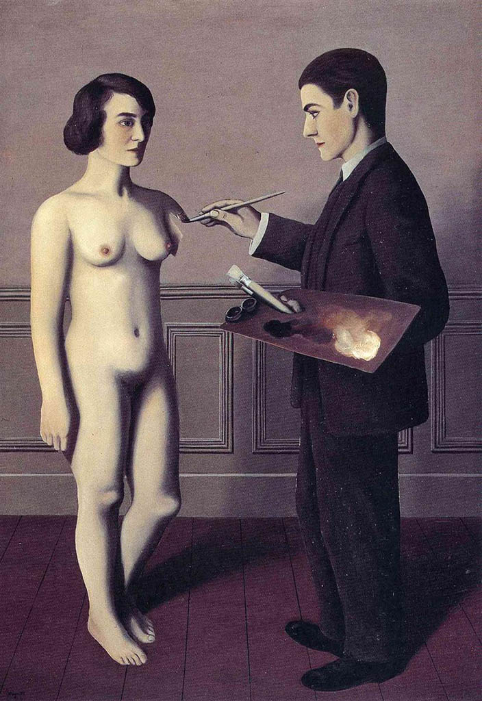 "Рене Магритт (Rene Magritte), ""Attempting the Impossible"""