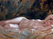"""Бруно Ди Майо (Bruno Di Maio), """"Reclining nude"""""""