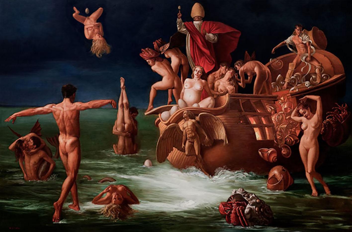 "Бруно Ди Майо (Bruno Di Maio), ""Ship of fools (la nave dei folli)"""