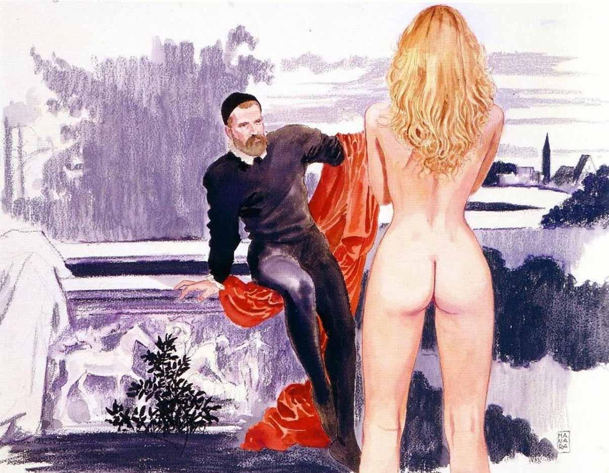 Мило Манара (Milo Manara), Erotic Illustration - 13