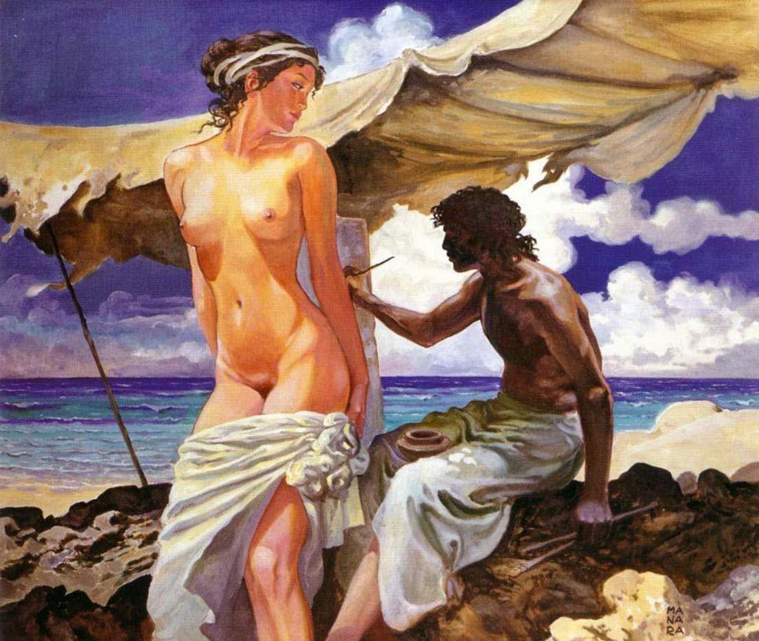 Мило Манара (Milo Manara), Erotic Illustration - 14