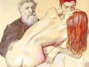 Мило Манара (Milo Manara), Erotic Illustration - 17