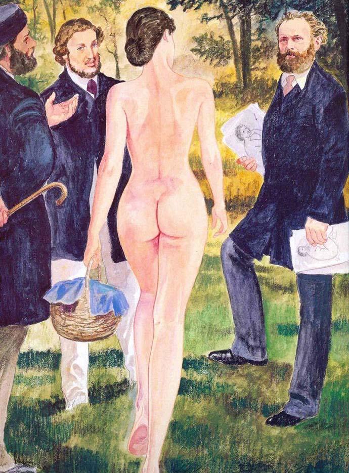 Мило Манара (Milo Manara), Erotic Illustration - 18