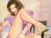 Мило Манара (Milo Manara), Erotic Illustration - 1