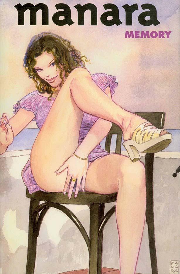Мило Манара (Milo Manara), Erotic Illustration - 1