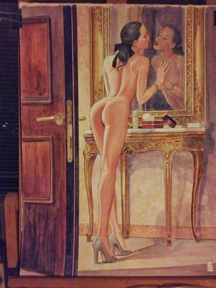 Мило Манара (Milo Manara), Erotic Illustration - 28