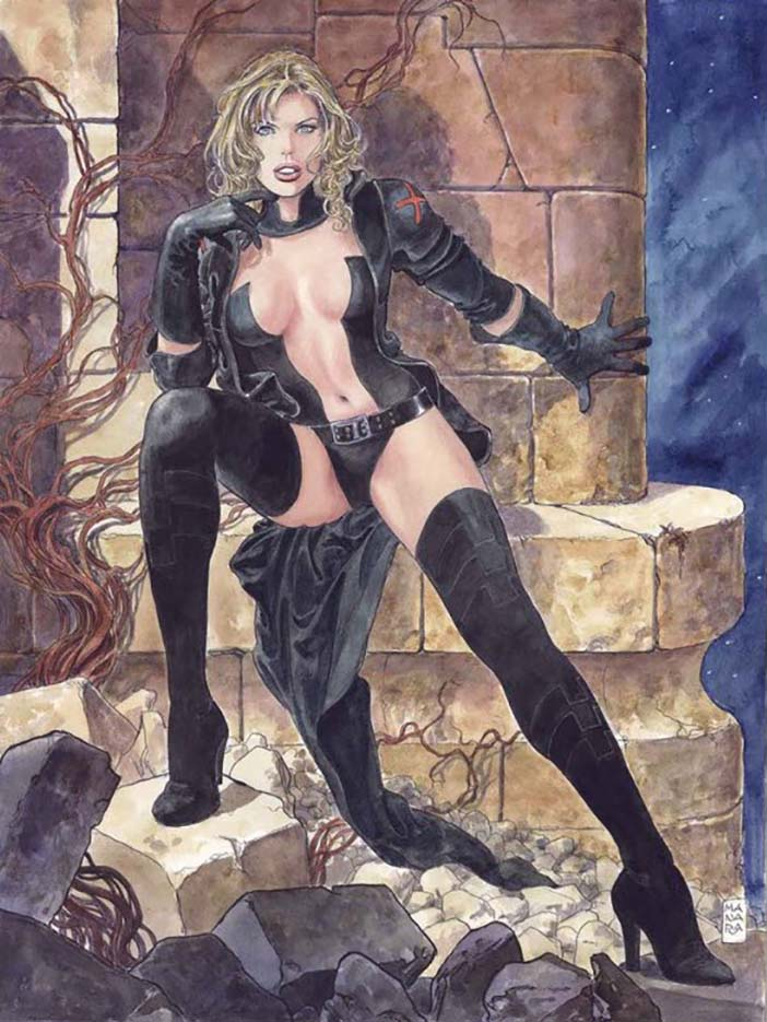 Мило Манара (Milo Manara), Erotic Illustration - 2