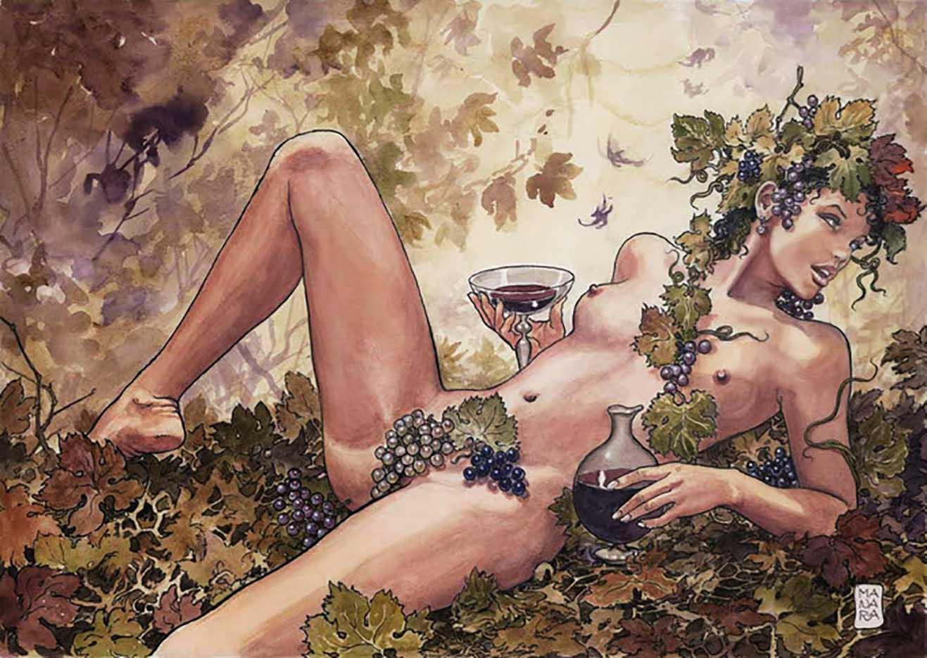 Мило Манара (Milo Manara), Erotic Illustration - 30