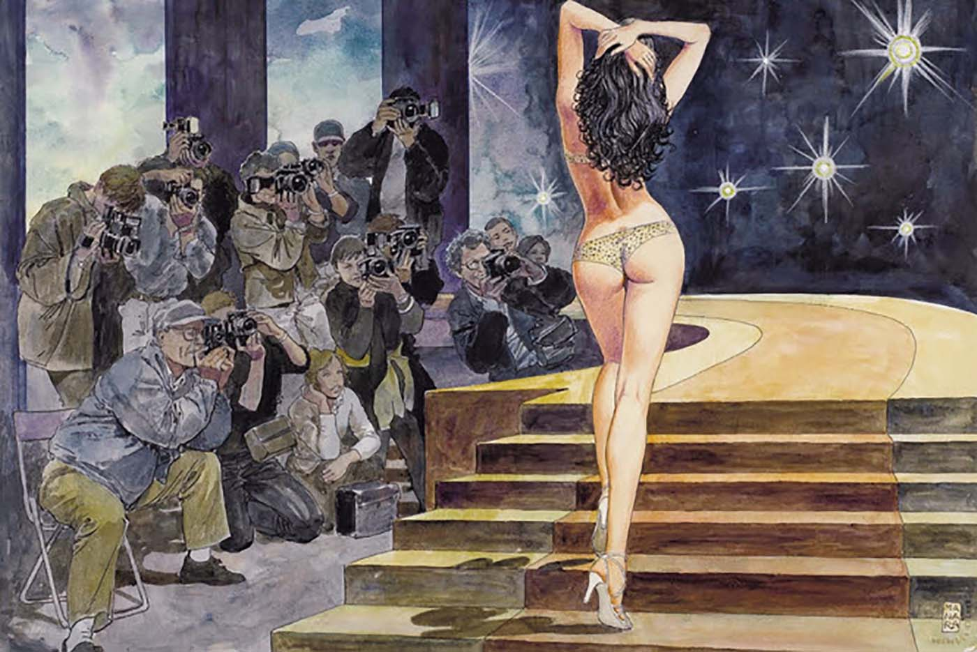 Мило Манара (Milo Manara), Erotic Illustration - 37