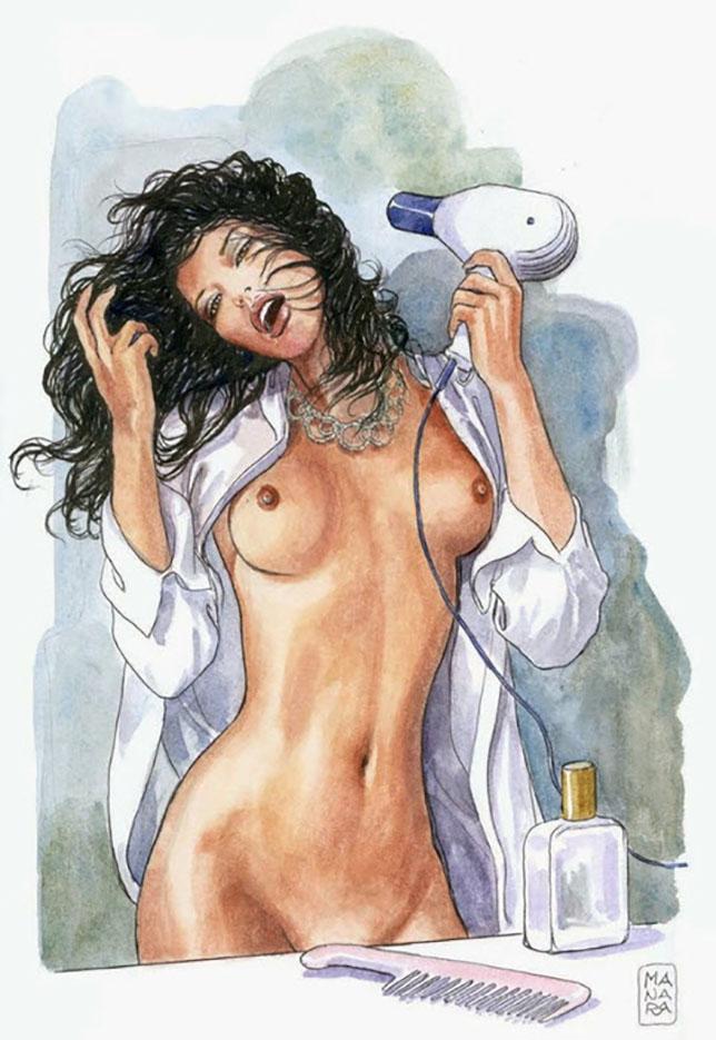 Мило Манара (Milo Manara), Erotic Illustration - 38