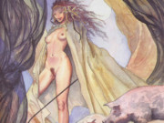 Мило Манара (Milo Manara), Erotic Illustration - 40