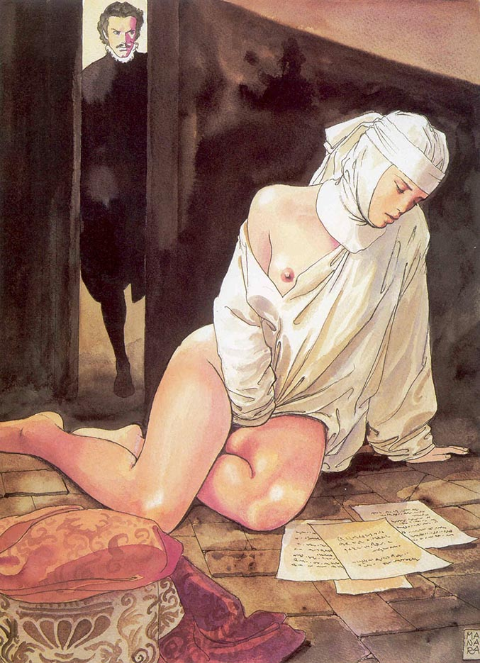 Мило Манара (Milo Manara), Erotic Illustration - 43