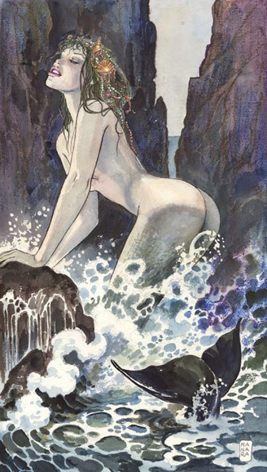 Мило Манара (Milo Manara), Erotic Illustration - 44