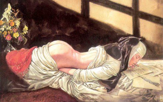 Мило Манара (Milo Manara), Erotic Illustration - 47