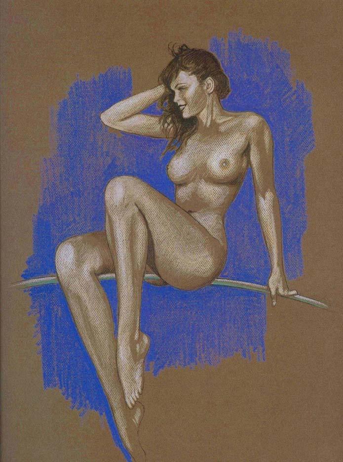 Мило Манара (Milo Manara), Erotic Illustration - 55