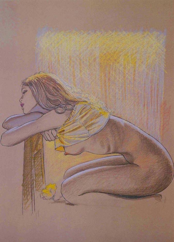 Мило Манара (Milo Manara), Erotic Illustration - 56