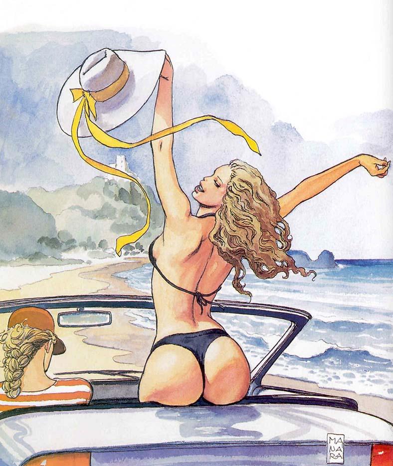 Мило Манара (Milo Manara), Erotic Illustration - 60