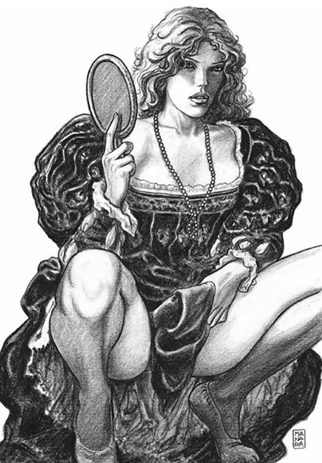 Мило Манара (Milo Manara), Erotic Illustration - 72