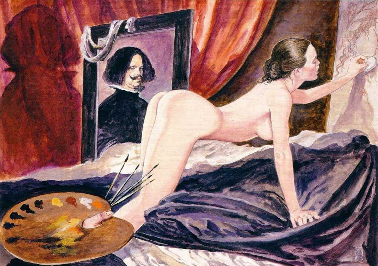 Мило Манара (Milo Manara), Erotic Illustration - 9