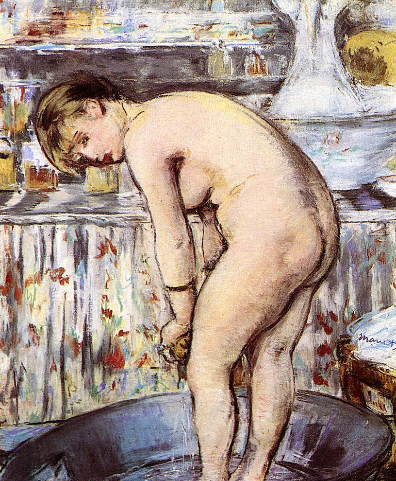 Эдуард Мане (Edouard Manet), Woman in the Tub