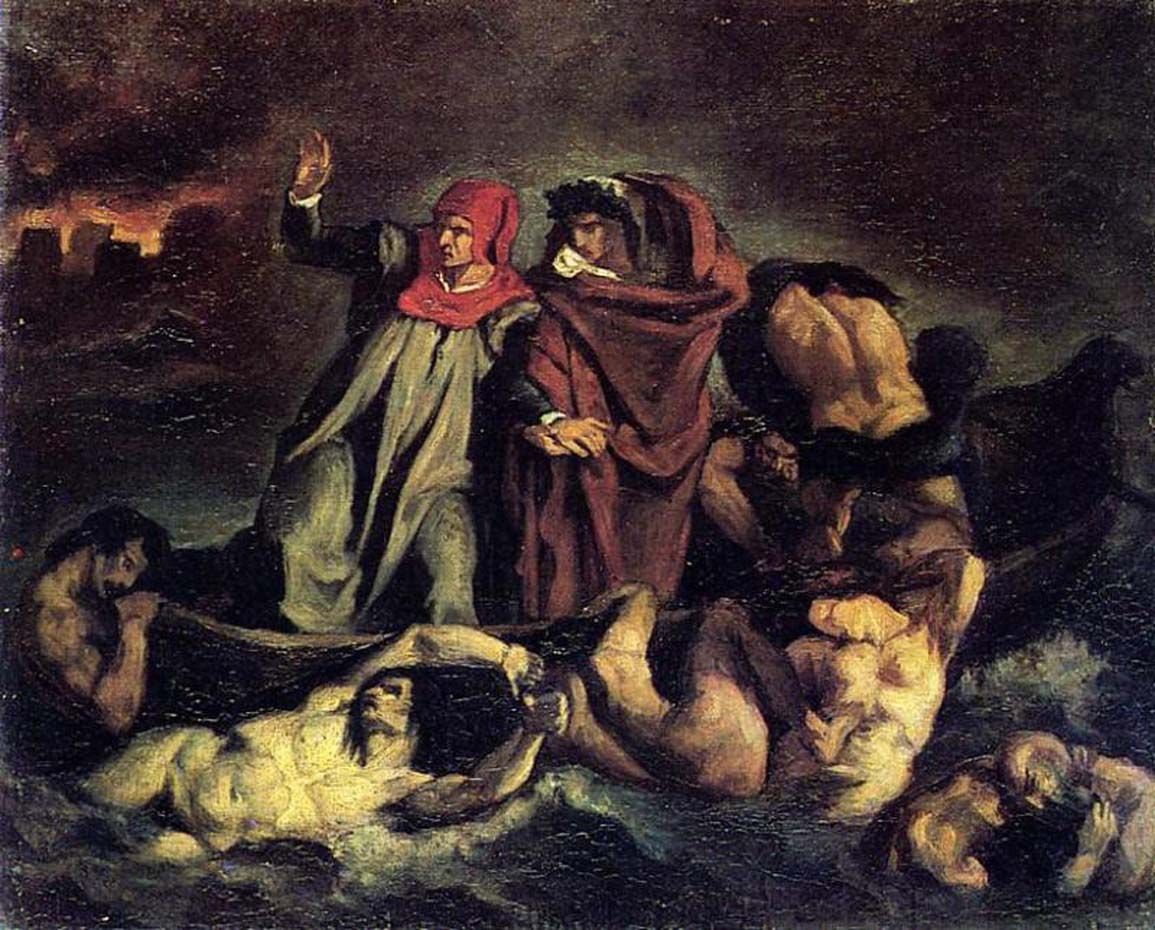 Эдуард Мане (Edouard Manet), The Barque of Dante after Delacroix