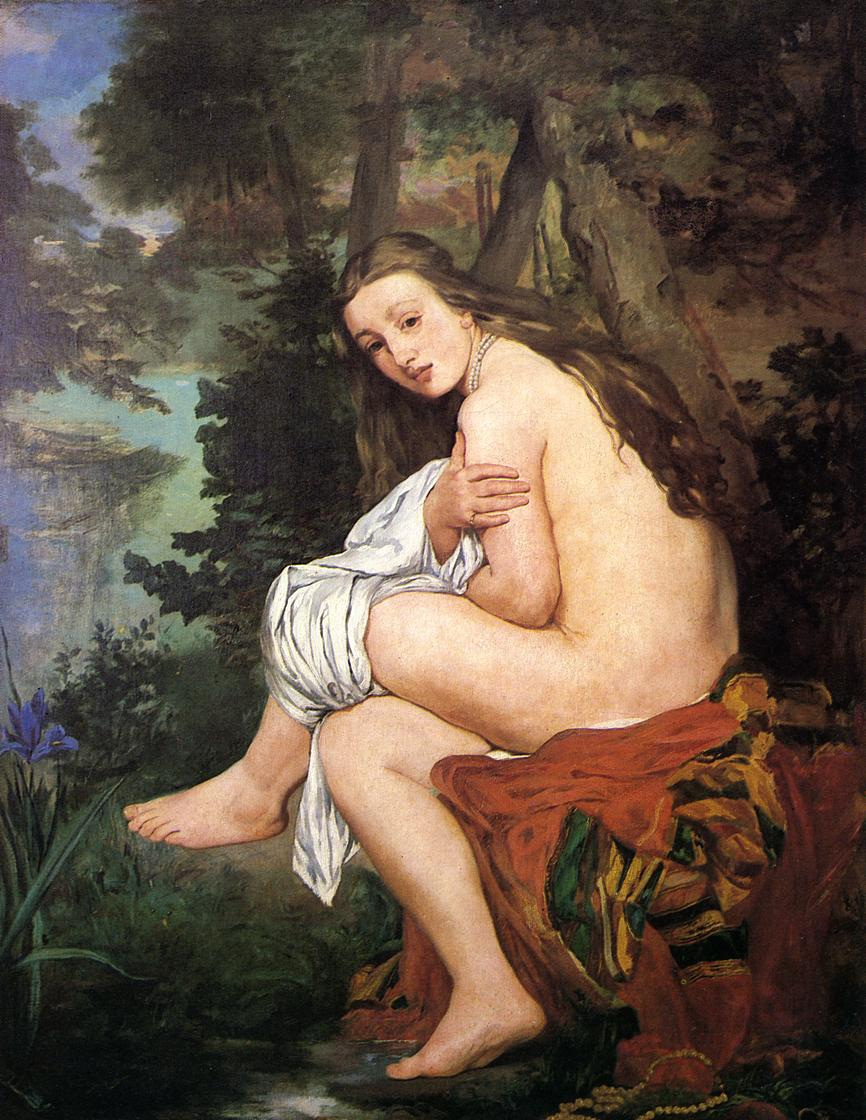 Эдуард Мане (Edouard Manet), The Surprised Nymph