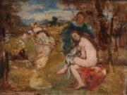 Эдуард Мане (Edouard Manet), Удивлённая нимфа