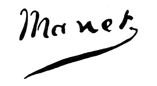 Эдуард Мане (Edouard Manet), Signature