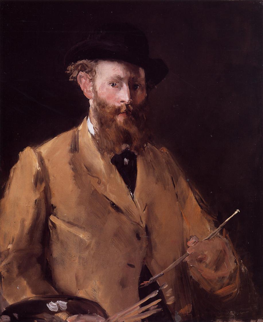 Эдуард Мане (Edouard Manet), Автопортрет