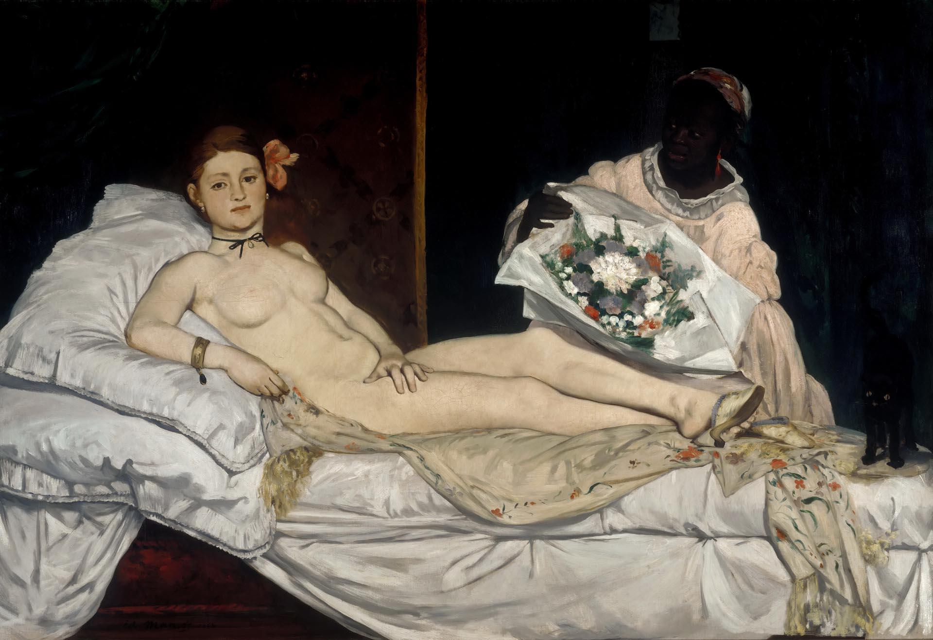 Эдуард Мане (Edouard Manet), Олимпия