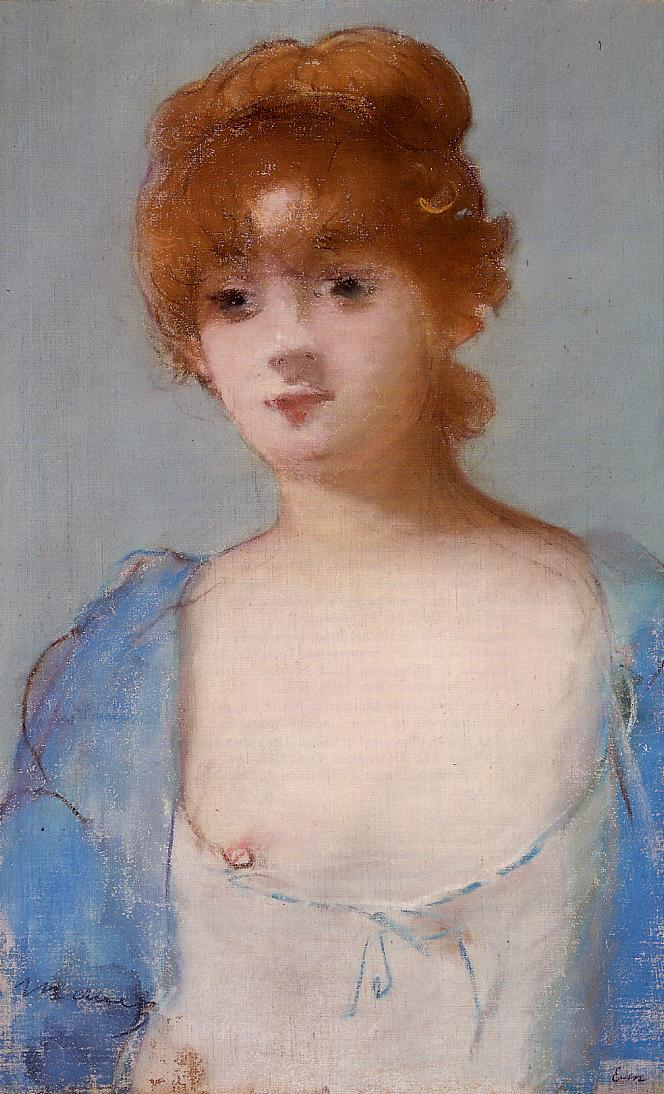 Эдуард Мане (Edouard Manet), Young Woman among in a Negligee