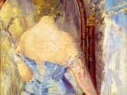 Эдуард Мане (Edouard Manet), Before the Mirror