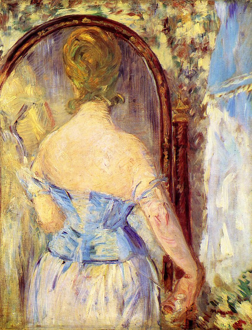 Эдуард Мане (Edouard Manet), Before the Mirror