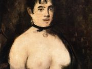 Эдуард Мане (Edouard Manet), The Brunette with Bare Breasts