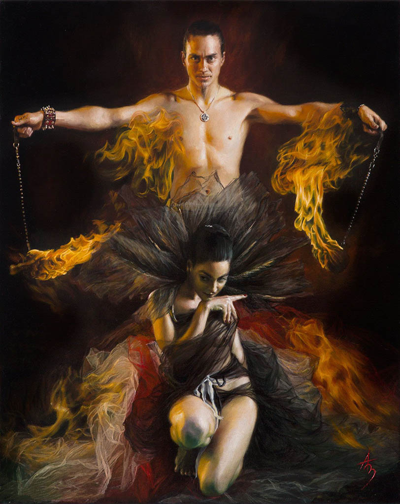 "Александра Манукян (Alexandra Manukyan) ""Burning Love"""